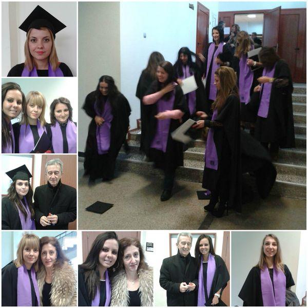 Абсолвентите на ФХН получиха дипломи 2014