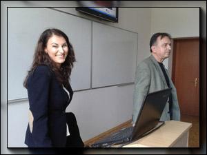 Тоня Димитрова в Шуменския университет